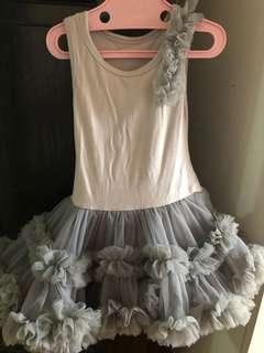 Sleeveless petti tutu dress