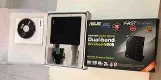 全齊配件 新淨 ASUS 華碩 RT-N56U Router 路由器 ( 不議價)
