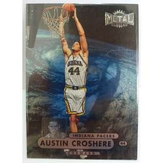 1995 Skybox Metal Universe NBA Card #38 Austin Croshere