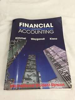 Financial Accounting Seventh Edition