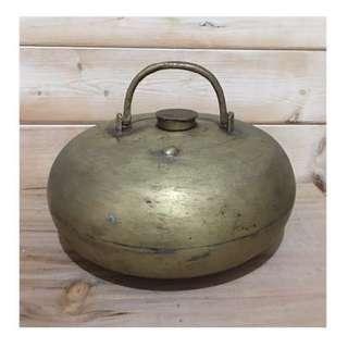🚚 清末民初 銅壺 暖爐 湯婆子