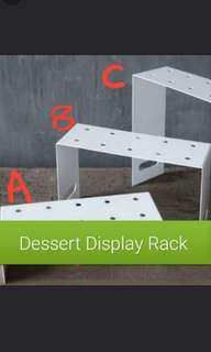 BN Dessert Display Shelf Rack Push Pop Macaroon