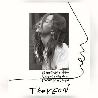 (Korea Purchase) Taeyeon-Something New Album