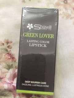SHAWILL GREEN LOVER LIPSTICK