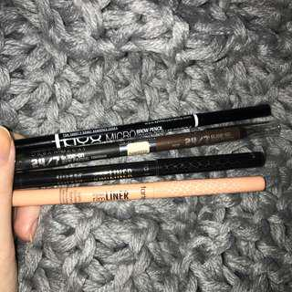 BROW PENCIL & EYELINERS