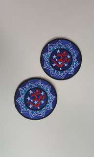 2pcs Iron On Patch