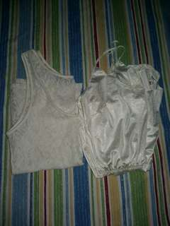 Inner bundle :) Lace Sando and nightwear romper