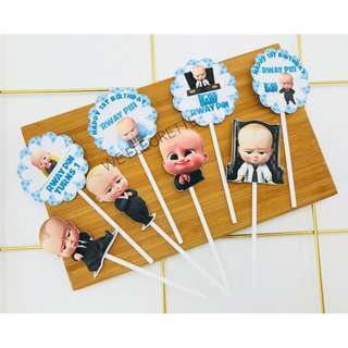 DIY Party- Customised Cupcake Topper
