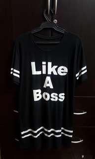 Like A Boss black dress