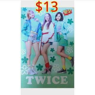 $12包郵送yescard Twice 夜光卡