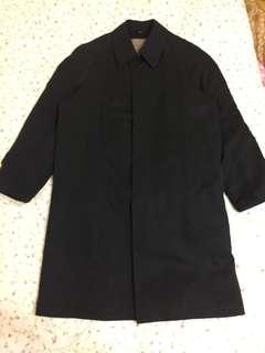 黑色 古著 大衣 內裡可拆