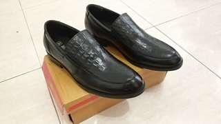 Sepatu kulit asli formal leather shoes pantofel kerja JIM JOKER 42 43