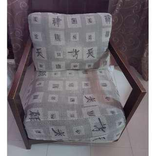 Wooden armchair ( 1 pair of armchairs ) furniture