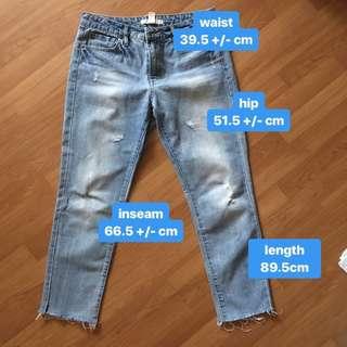 forever 21 life in progress boyfriend jeans