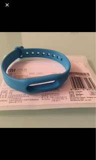 第一代小米手環光感版手帶(藍色)