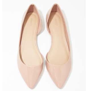 FOREVER 21 BLUSH PINK FLATS