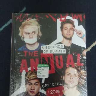 5 Seconds of Summer The Annual Official 2016