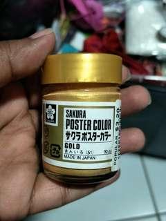 Sakura Gold Poster Colour