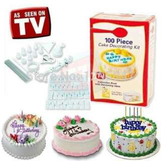 100 Piece Decorating Cake Kit
