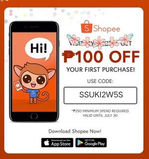 Shopee FREE Discount Voucher