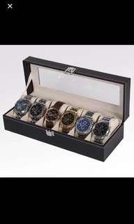 🚚 精緻皮革首飾手錶盒