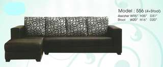 cheapest price sofa L-shape - 556