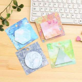 BN Post It Notes in 4 different colours