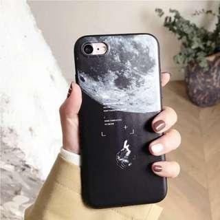 iPhone 7/8 Case - Space theme 太空 月球 interstellar