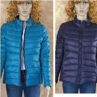 Reversible winter down bubble jacket