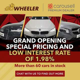 GOwheeler Grand Opening - Special Pricing Available!