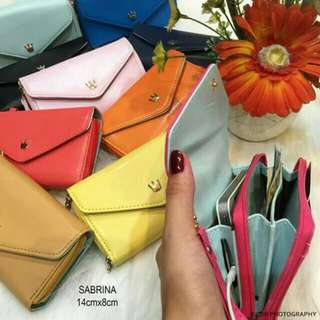 Original Sabrina Wallet 💯%imported faux leather