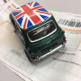 Union Jack Mini copper hamsley