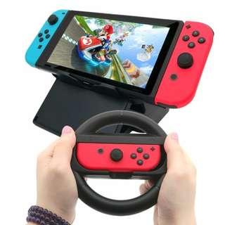 Nintendo Switch Wheel Racing Controller Holder Case