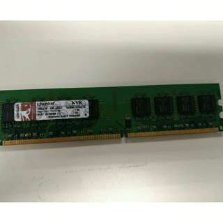Kingston DDR2 1GB RAM PC2-5300(333MHz) $15