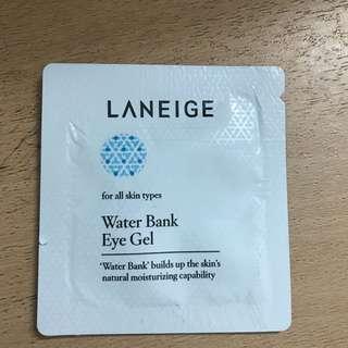 Laneige water bank eye gel tester