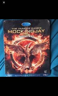 Hunger Games: Mockingjay Blu-ray