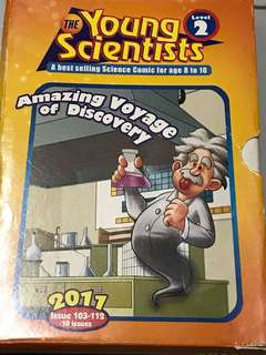 Young scientists level 2 Children science book