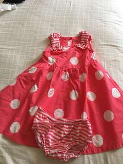 Gymboree dress 12-18 mths