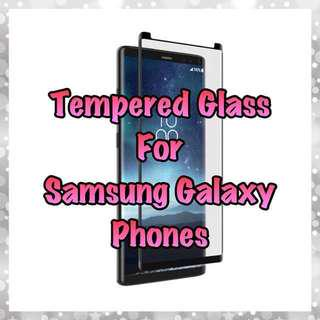 Samsung Galaxy Glass Protectors Collection