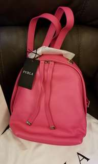 Furla spy bag mini leather backpack