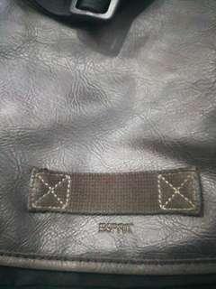 Esprit black messenger bag