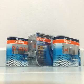 OSRAM Cool Blue Intense H1 / H4 / H7 / H11 / HB4 Bulb (Twin Pack)