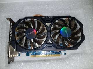 Gigabyte Windforce Geforce gtx 750 ti