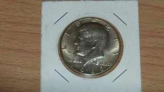 1968年美國甘迺迪半美元銀幣