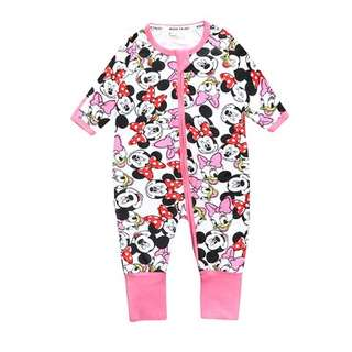 Inspired BONDS Sleepsuit Mickey Pink (BUY 2 FREE POSTAGE)