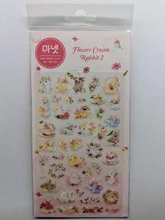 [BN] Cute Korean Rabbit Sheet Stickers