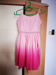 Pinky girl dress