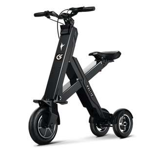 GLITE X1 CROSS COMPACT SEATED ELECTRIC SCOOTER (Black)