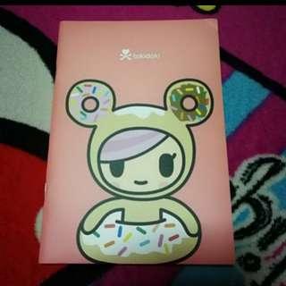 Tokidoki Donutella & Friend Series Notebook C