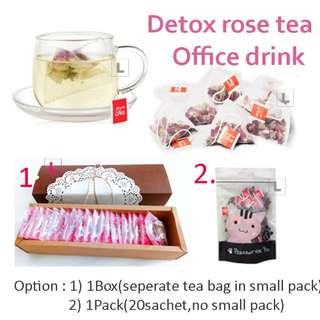 Whitening Rose Tea, Office Drink(25 Sachet)